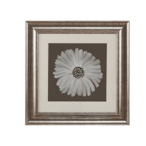 Decorative Embroidery Wall Art Flower1 Wall Art:23W x 23H x 0.9DBrownHH95B-0006