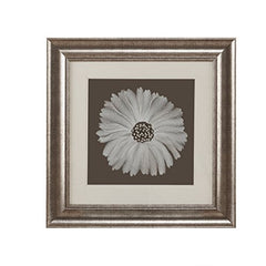 "Decorative Embroidery Wall Art Flower1 Wall Art:23""W x 23""H x 0.9""DBrownHH95B-0006"
