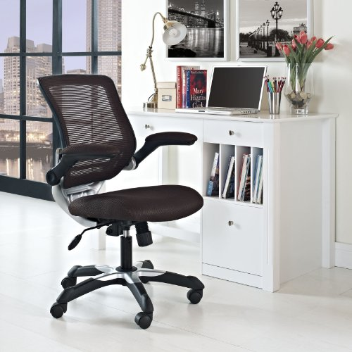 Edge Mesh Office Chair - Brown