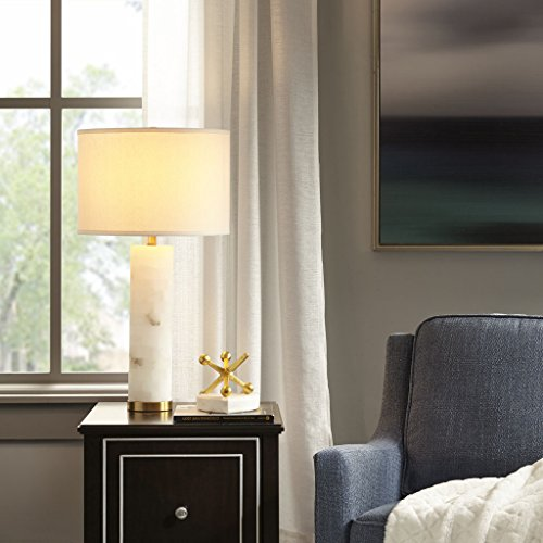 Prague Table Lamp1 Prague Table lamp:16D x 16W x 30HShade Size:16D x 16D x 11HBase Dimensions:Dia4.75 x 17HCord Length:72WhiteMP153-0144