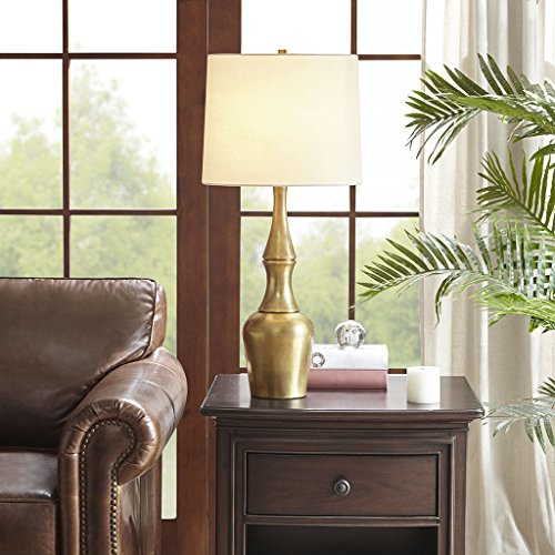 "Table Lamp1 Table Lamp:14.37""L x 14.37""W x 30.4""H Base Size:Dia 5"" x 20.5""H Shade Size:13.3""W x 14.37""D x 11.27""H Cord Length:120""GoldHH153-0003"