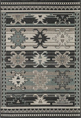 "Momeni Rugs BAJA0BAJ19SAG3B57 Baja Collection Contemporary Indoor Outdoor Area Rug, 3'11"" x 5'7"", Sage"