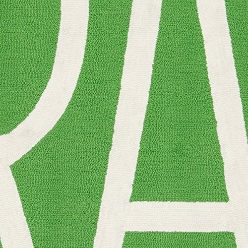 "Novogratz Portico Collection Grass Area Rug, 5'0"" x 8'0"", Green"