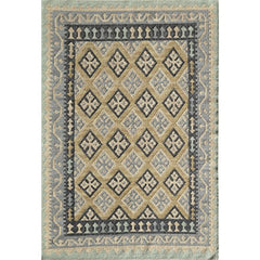 "Momeni Rugs CARAVCAR11GLD3959 Caravan Collection Hand Woven Transitional Area Rug, 3'9"" x 5'9"", Gold"