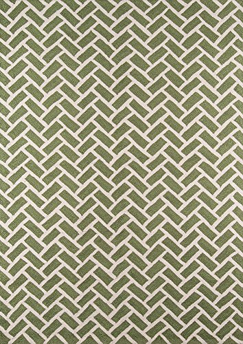 Momeni Rugs GEO00GEO-2GRN2030 Geo Collection, Hand Hooked Contemporary Area Rug, 2' x 3', Green
