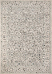 "Momeni Rugs ZIEGLZE-02IVY3B57 Ziegler Collection, Traditional Area Rug, 3'11"" x 5'7"", Ivory"