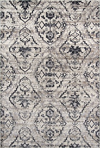 "Momeni Rugs JULIEJU-08IVY5076 Juliet Collection Transitional Area Rug, 5' x 7'6"", Ivory"