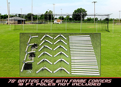 Cimarron 70x12x12 24 Batting Cage & Frame Corners (4 Boxes)