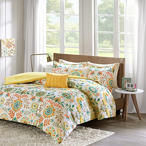 "Comforter Set2 Standard Shams:20x26+1""(2) 1 Comforter:90x90"" 2 Decorative Pillows:12x16""/16x16""MultiID10-728"