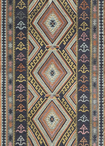 Momeni Rugs CARAVCAR-9MTI2030 Caravan Collection Hand Woven Transitional Area Rug, 2' x 3', Multicolor