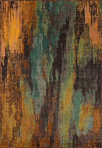 Momeni Rugs CASABCAS-6MTI2030 Casa Collection, Soft Blend Contemporary Area Rug, 2' x 3', Multicolor