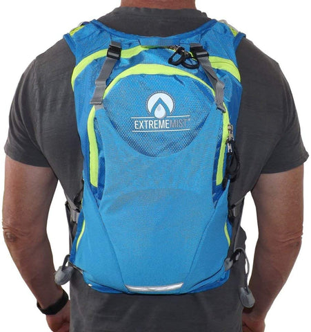 EXTREMEMIST Hydration Backpack - Water Mister and Drinking Backpack - 2 Liter Water Pouch - Keep Cool and Hydrated for Hiking, Cyclists, Running, Climbing, & Biking