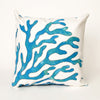Liora Manne Visions I Coral Indoor/Outdoor Pillow Blue 12 Inchesx20 Inches