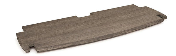 Spare Deep Printer Shelf` 24` Grey Driftwood