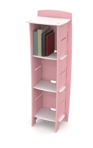 Kids Bookcase` Pink and White` 48 x 16 x 12
