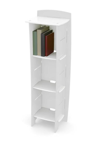 Kids Bookcase` White` 48 x 16 x 12