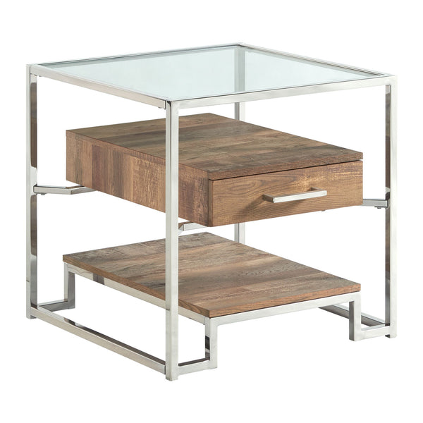 Picket House Furnishings Hampton Square Storage End Table