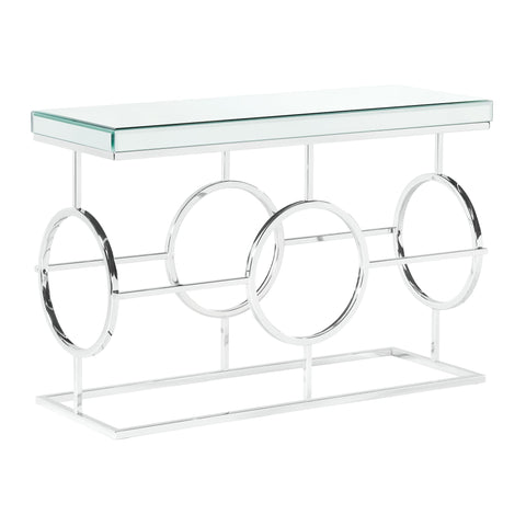 Picket House Furnishings Katie Rectangle Mirrored Sofa Table
