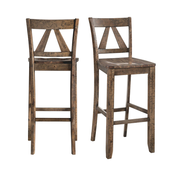 Picket House Furnishings Flynn 30 Bar Stool Set