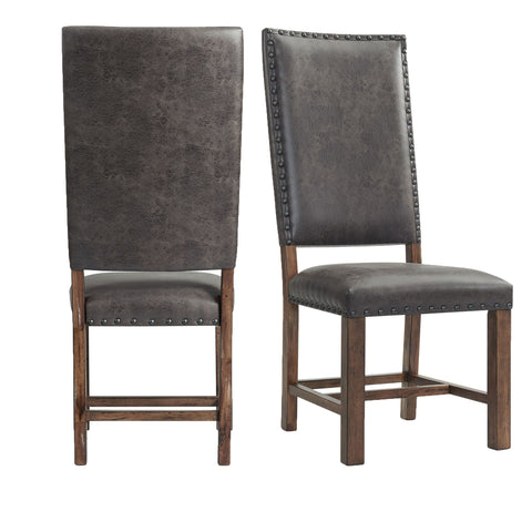 Picket House Furnishings Hayward Tall Back Side Chair Set