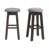Picket House Furnishings Steele 30 Swivel Backless Bar Stool Set