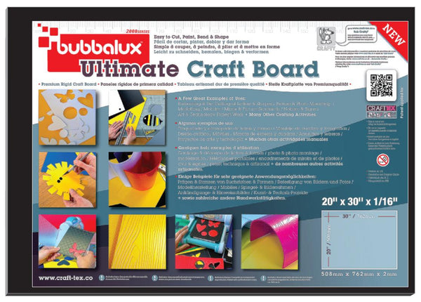 "Ultimate Creative Craft Board, 20""x30"" in Midnight Black (2 Pack) A superior choice to foam board."