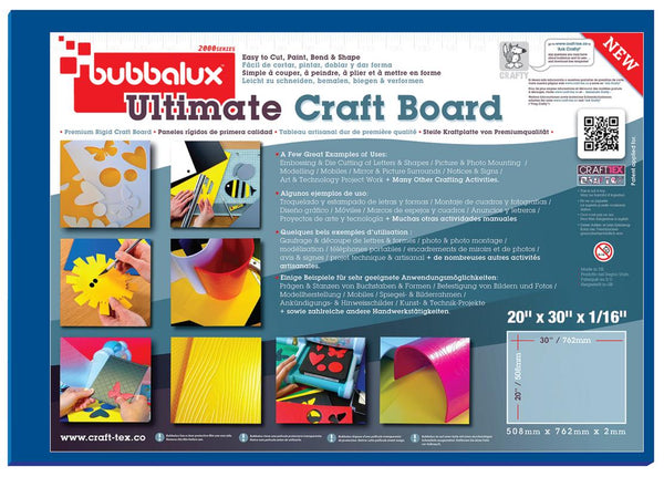 "Ultimate Creative Craft Board, 20""x30"" in Marine Blue (2 Pack) A superior choice to foam board."