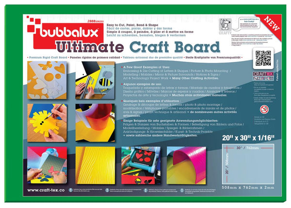 "Ultimate Creative Craft Board, 20""x30"" in Forest Green (2 Pack) A superior choice to foam board."