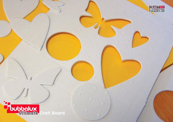 Ultimate Creative Craft Board` Letter Size in Daffodil Yellow (6 pack) A superior choice to foam board.