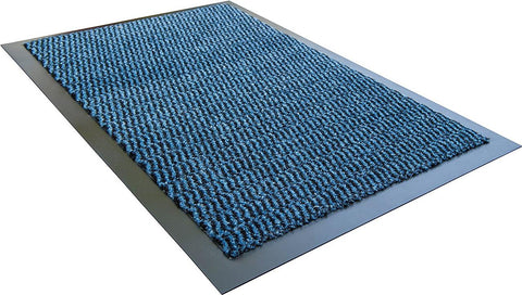 Doortex Advantagemat Rectagular Indoor Entrance Mat in Blue (24x36)