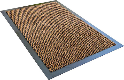 Doortex Advantagemat Rectagular Indoor Entrance Mat in Brown (24x36)