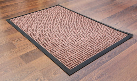 Doortex Ribmat heavy duty Indoor / Outdoor Entrance mat in Brown (24x36)
