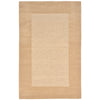 Liora Manne Madrid Border Indoor Rug Natural 24X48 1/2 RD