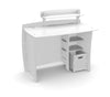 Kids Complete Desk System Set` White` 43 x 39 x 27