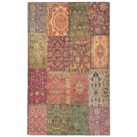 Liora Manne Marbella Old Persian Indoor Rug Red 48X76