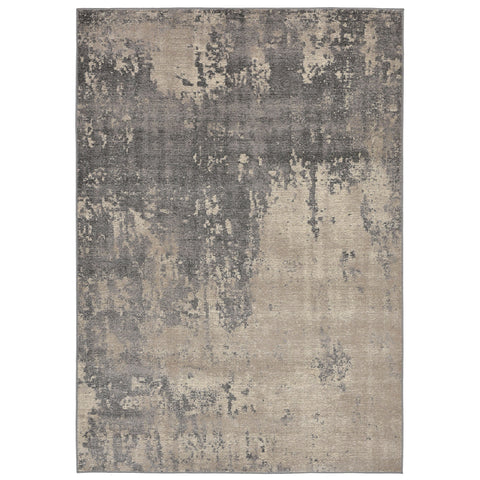 Liora Manne Royalty Abstract Indoor Rug Grey 23X35