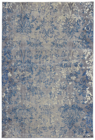 Liora Manne Royalty Vintage Floral Indoor Rug Grey 39X59