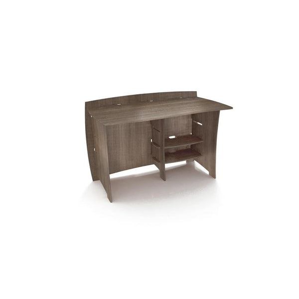 Straight Desk` 48` Grey Driftwood