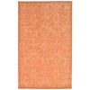 Liora Manne Seville Modern Damask Indoor Rug Orange 8X10