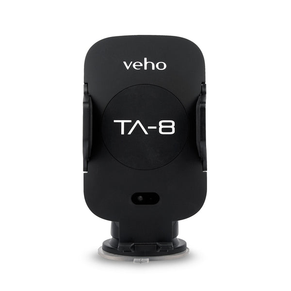 Veho TA-8 Universal in-car smartphone cradle with Qi wireless charging'