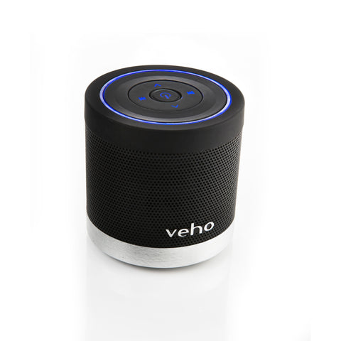 Veho VSS-009-360BT Portable Bluetooth Speaker for iPhone/Phones/Laptops/Netbooks/Bluetooth devices with micro SD
