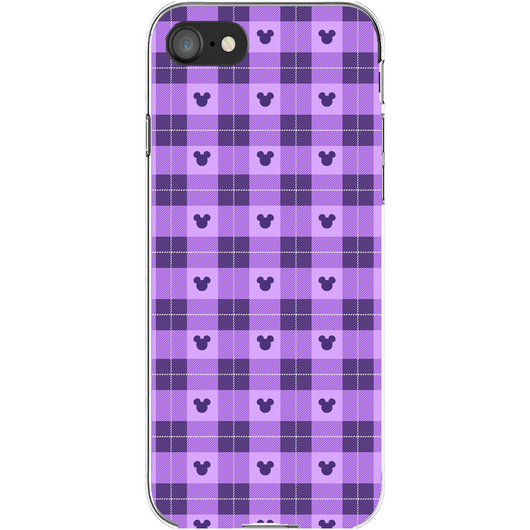 Purple Plaid Phone Cases
