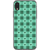 Green Plaid Phone Cases