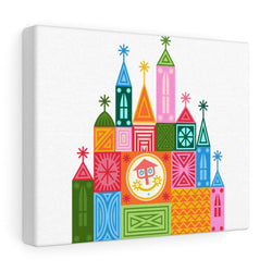 Small World Canvas Gallery Wraps