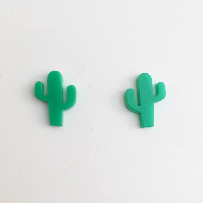 Saguaro Cactus Stud Earrings