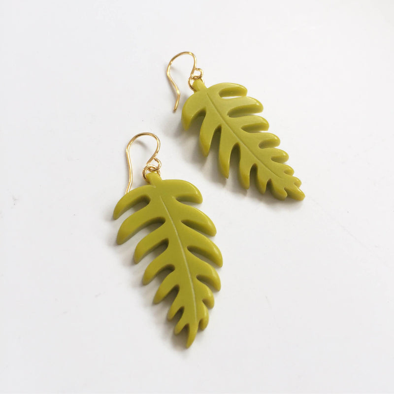 Fern Earrings Small