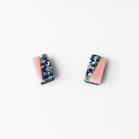 acrylic formation stud earrings
