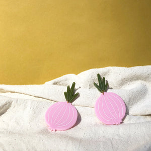 Onion Earrings