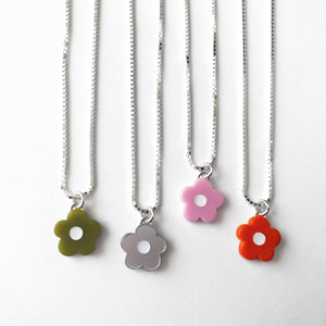 Mod Flower Necklace