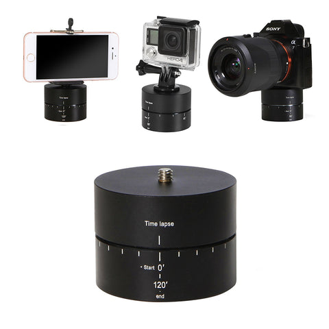 360 Degree Ball Head Panning Rotating Time Lapse Stabilizer